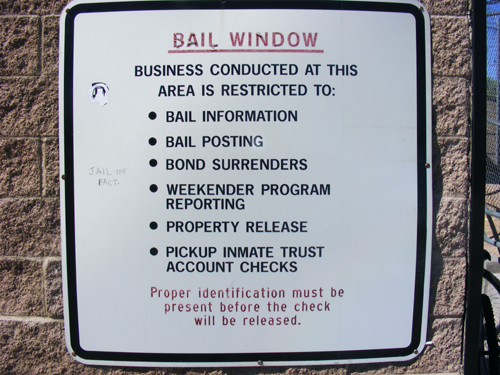 Bail Window Rules - City of Las Vegas Jail