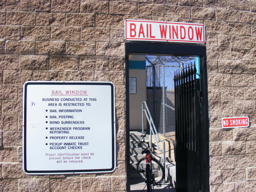 Bail Window and Rules - City of Las Vegas Jail