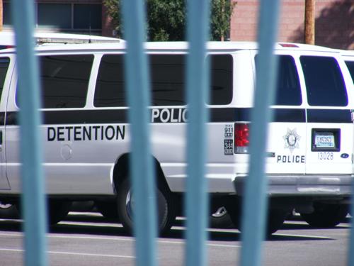 City of Las Vegas Jail Detention and Enforcement Van