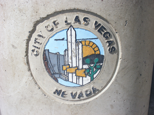 City of Las Vegas Logo at the Jail