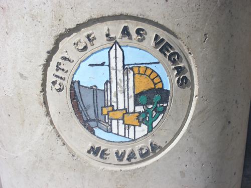 City of Las Vegas Logo at the Jail Detention and Enforcement Center