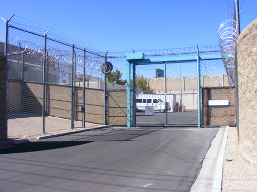Entrance Gate C -  City of Las Vegas Jail