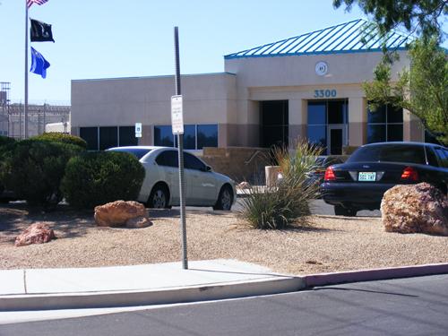 Front View of the City of Las Vegas Jail Detention and Enforcement Center Las Vegas, NV