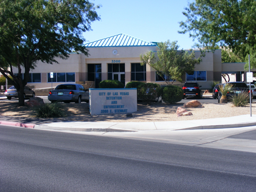 City of Las Vegas Jail - Front View